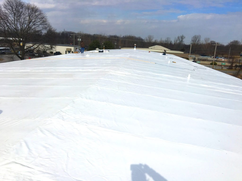 commercial roofing materials fort wayne
