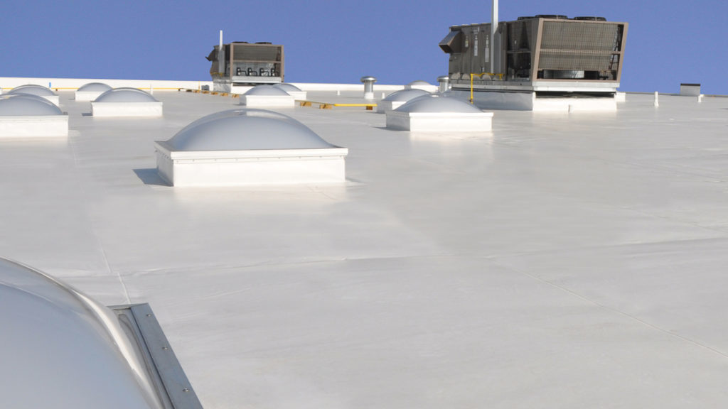 cropped commercial roofing
