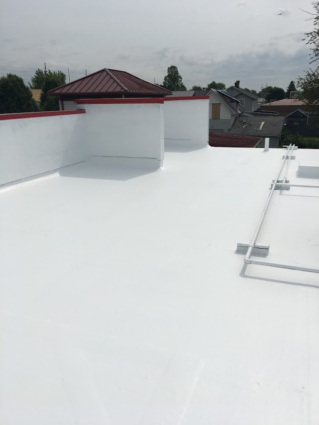 flat roof types fort wayne indiana