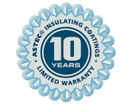 advantages industrial 10 year warranty astec
