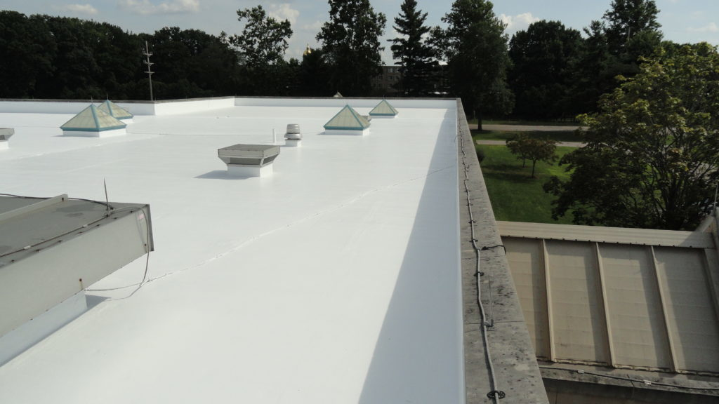 cropped industrial office roof repair astec notre dame in